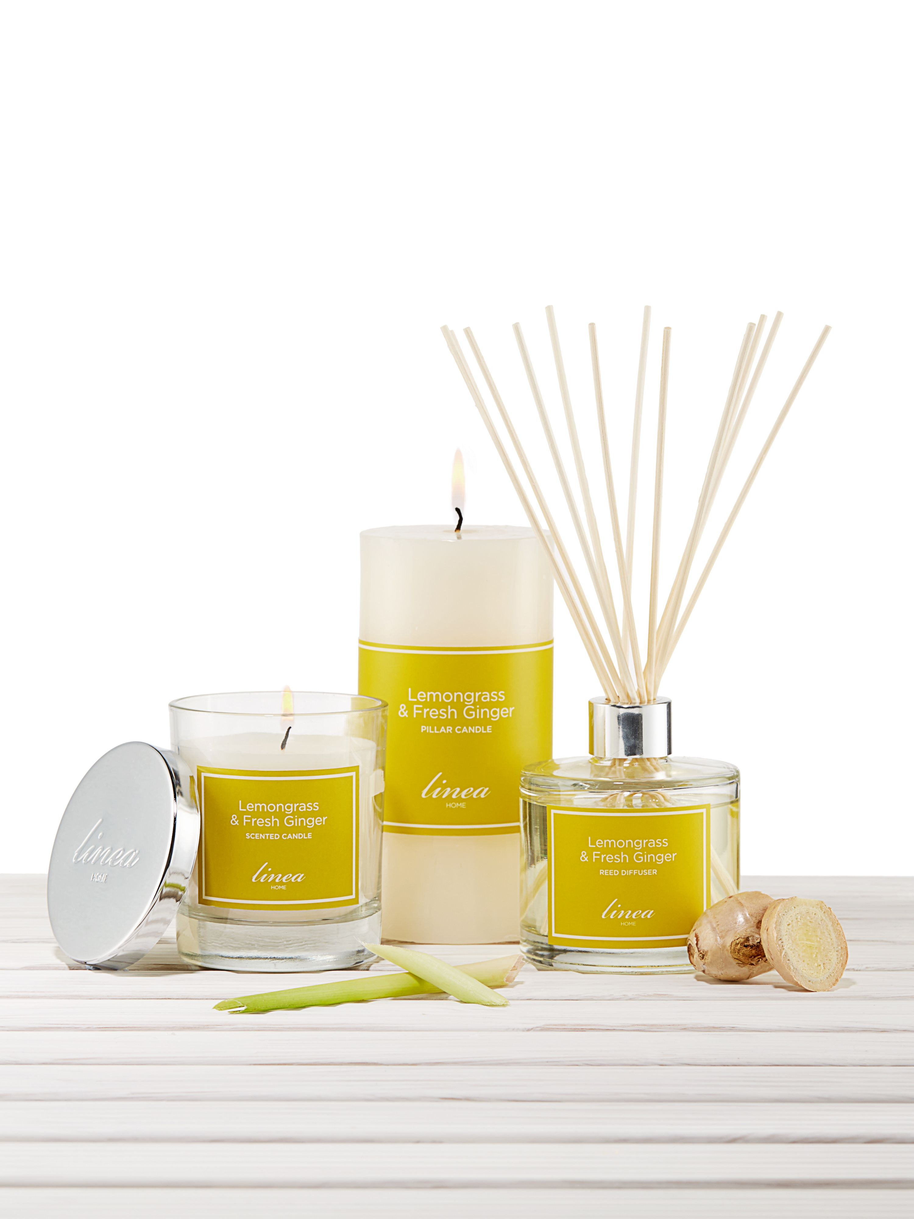 Lemongrass & ginger scent
