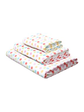 Linea Polka dot towels