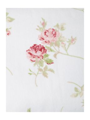 Shabby Chic Velour towels in floral rose
