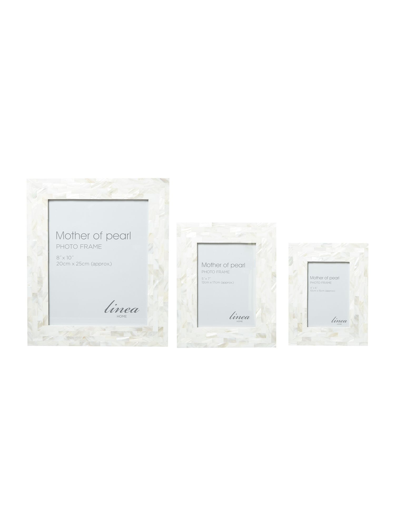 Mother of pearl frame range