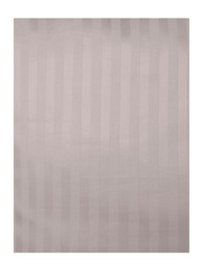 Satin stripe duvet cover in grey