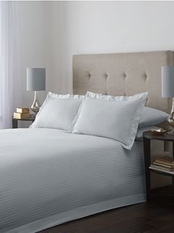 Luxury Hotel Collection Satin stripe double duvet cover