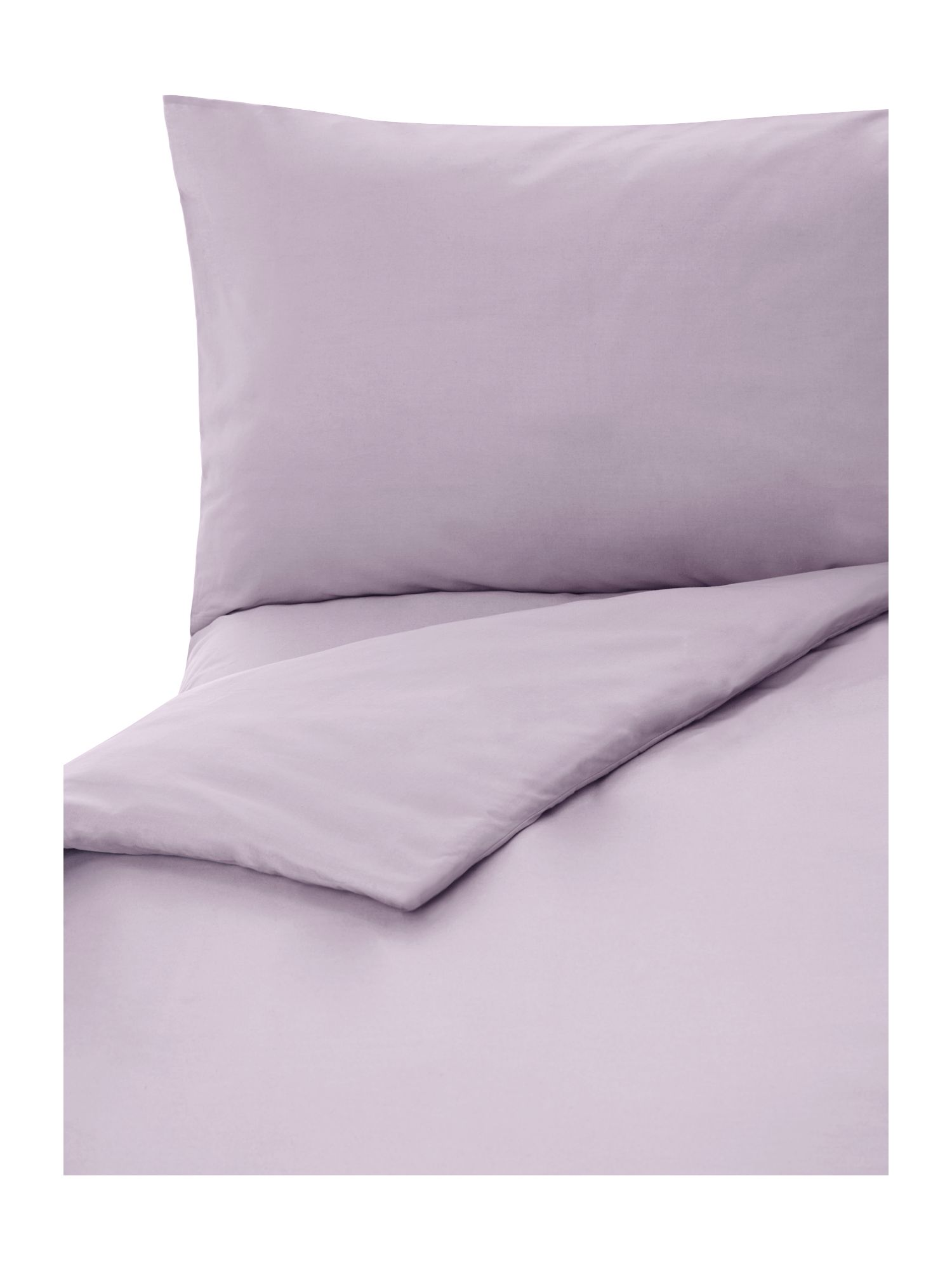100% cotton plain dye sheeting in lilac