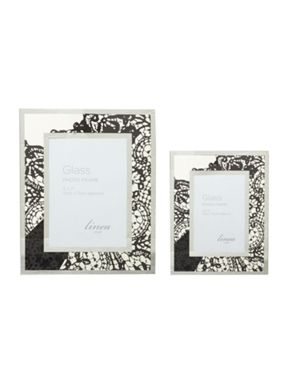 Linea Lace decal mirror photo frame range