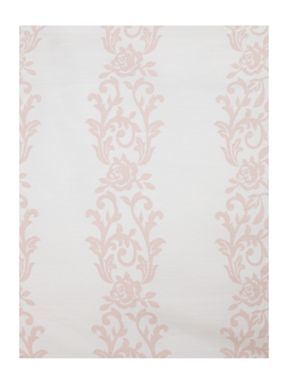 Shabby Chic Voile white frill bed linen in pink
