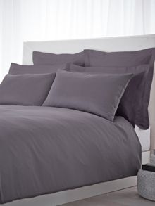 500 TC king size fitted sheet pair slate