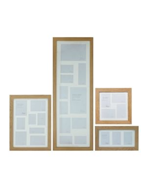 Linea Pale Wood Aperture Photo Frame Range