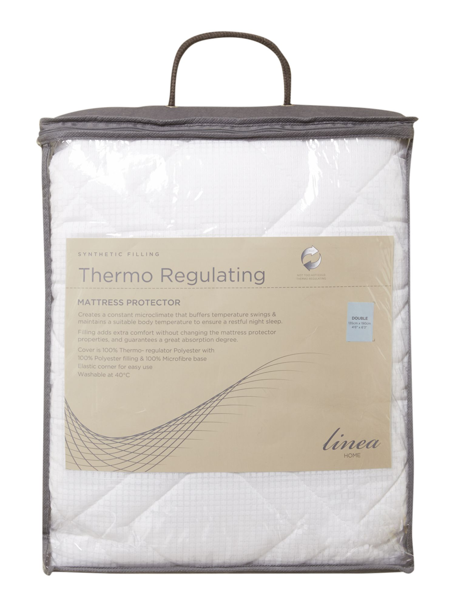 Thermo regulating mattress protectors