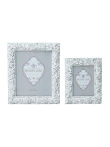 Shabby Chic Resin rose frame range