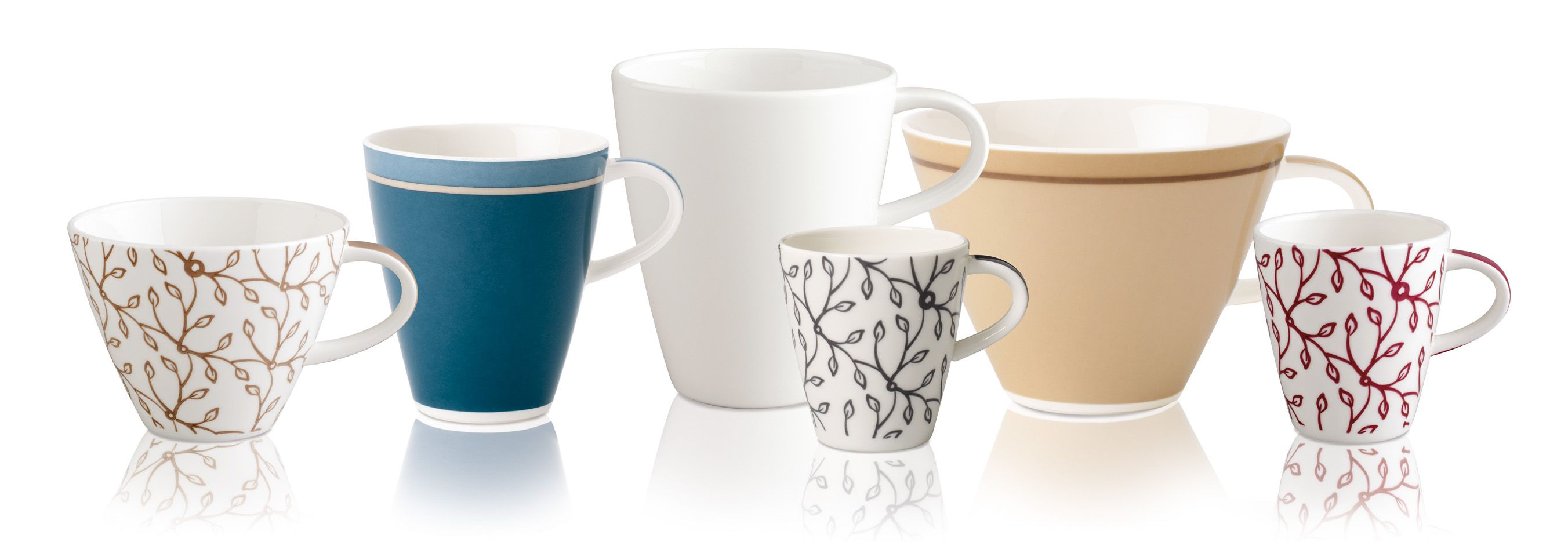 Caffe Club uni cornflower cup collection