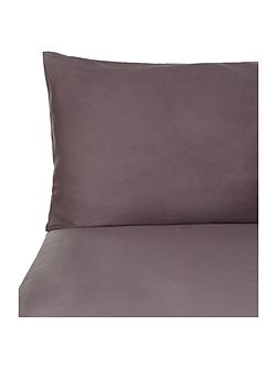 Pied a Terre Graphite housewife pillowcase pair