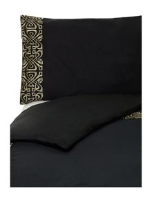Serena black bed linen
