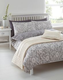 Modern lace duvet set