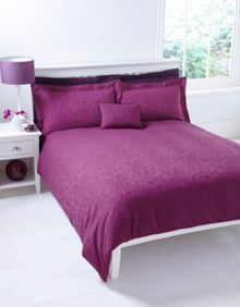 Princess Plum Jacquard duvet set