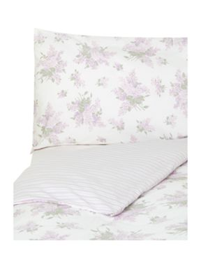 Shabby Chic Lila bed linen in lilac