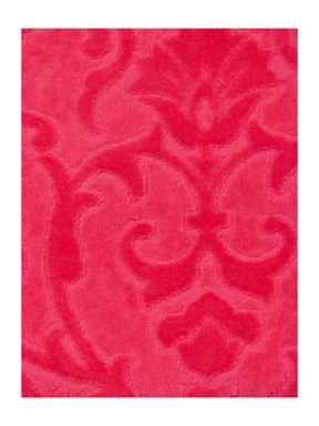 Pied a Terre Heavy jacquard towels in coral