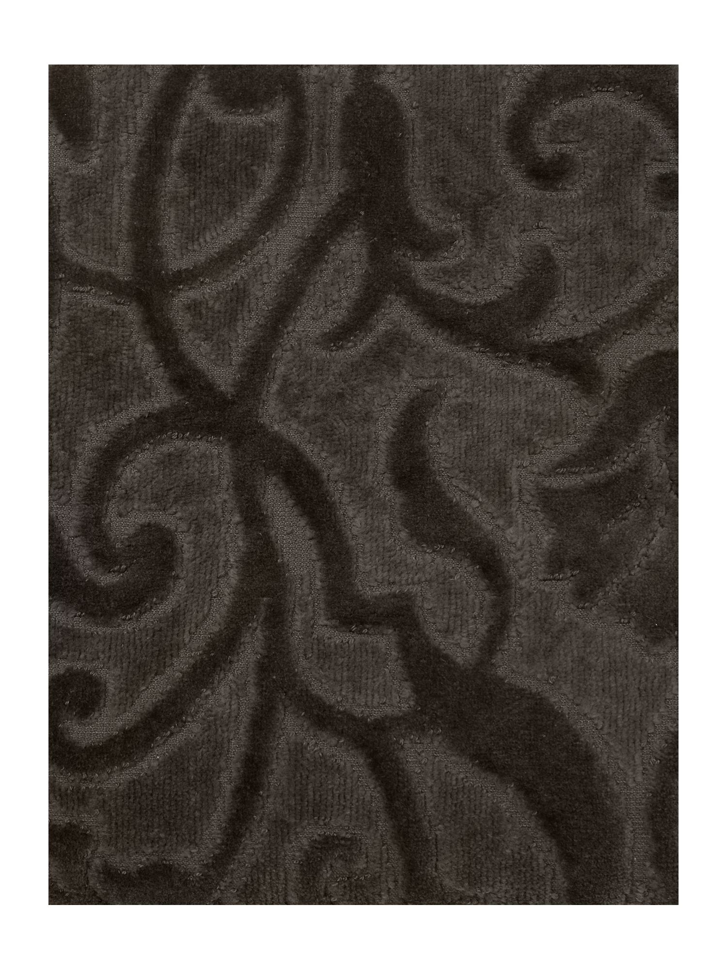 Heavy jacquard towels in charcoal
