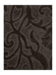 Pied a Terre Heavy jacquard towels in charcoal