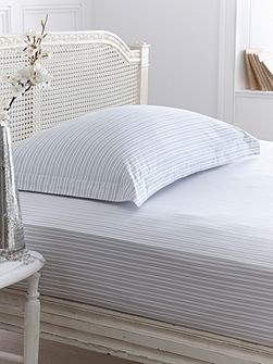 Stripe flat sheet double