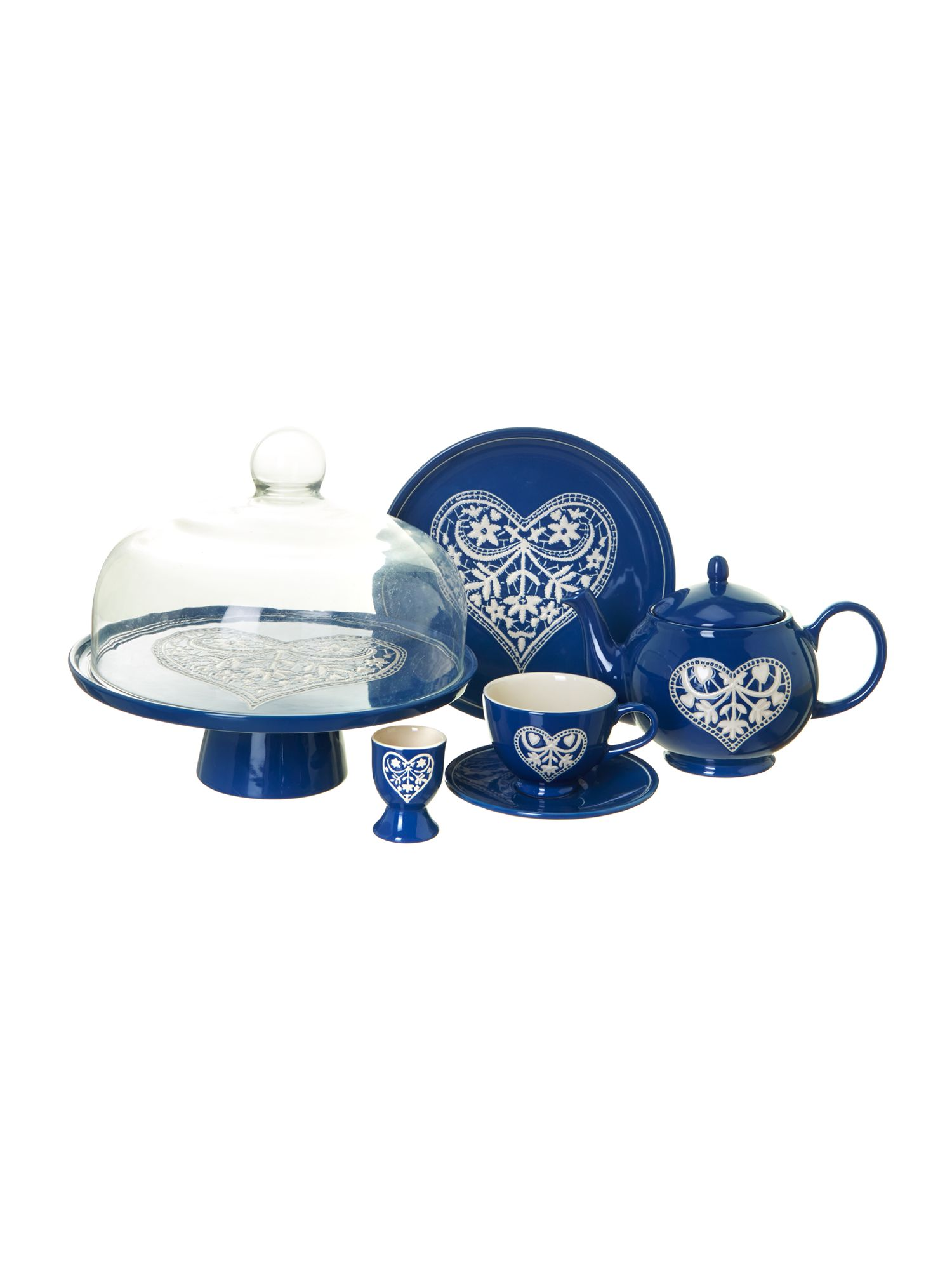 Jan Constantine cream serveware