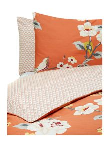 Living by Christiane Lemieux Red bird bed linen