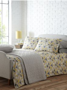 Woodcut bed linen by Christiane Lemieux