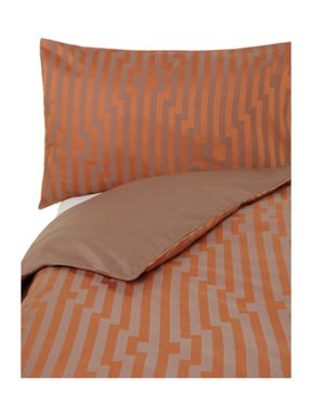 Living by Christiane Lemieux Brick jaquard bed linen