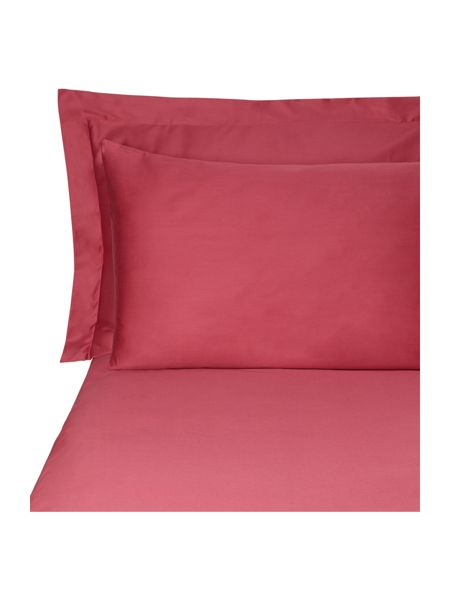 Pied a Terre Magenta flat sheet double