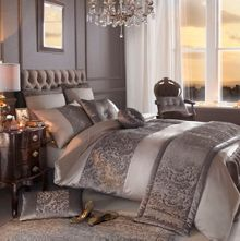 Stella truffle single duvet cover