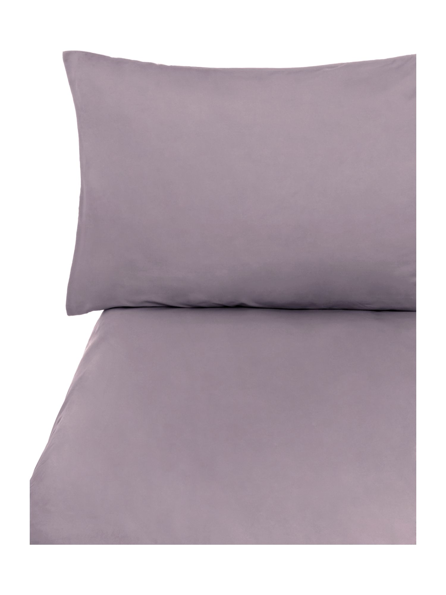 Amethyst sheets housewife pillowcase pair