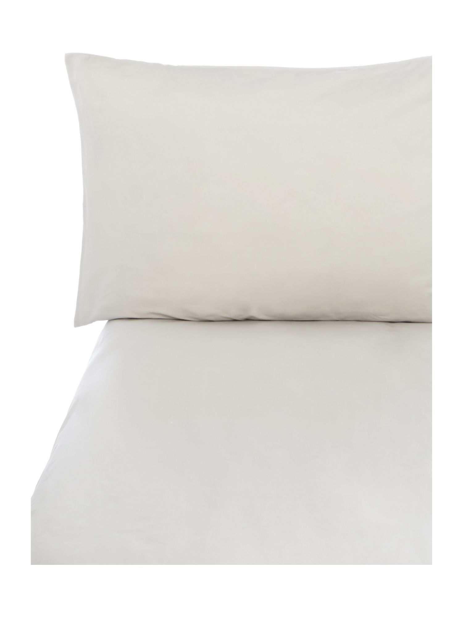 Single sheet housewife pillowcase pair