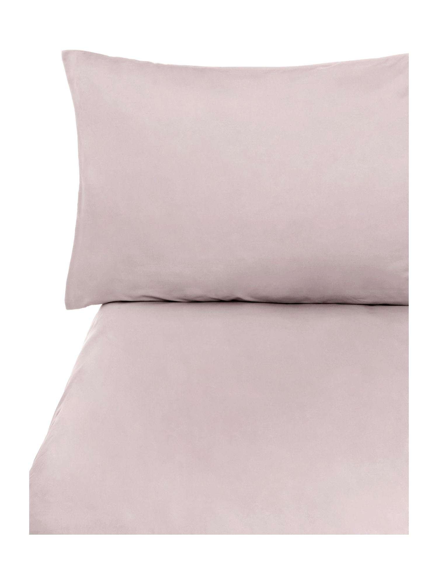 Truffle sheet fitted housewife pillowcase pair