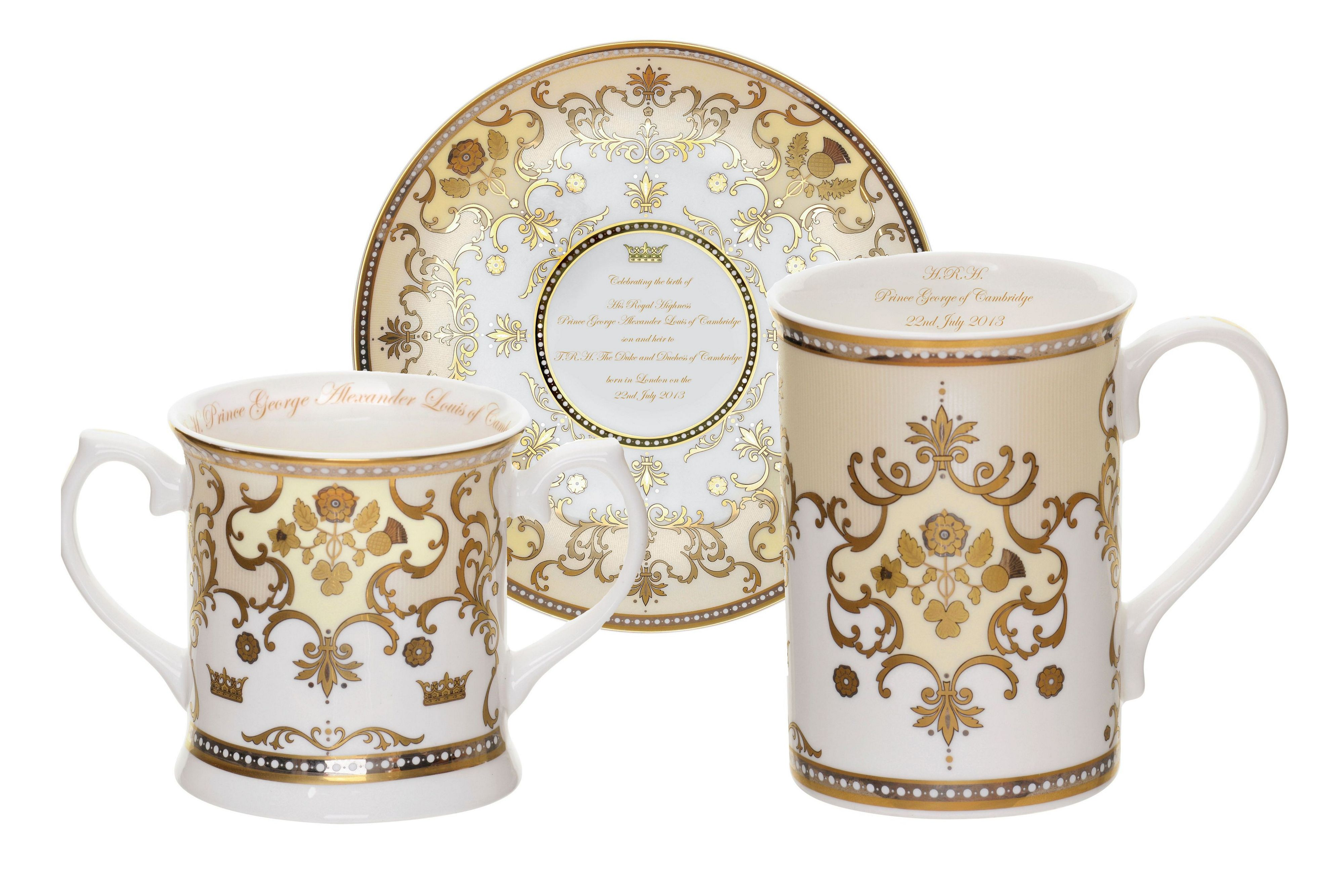 Royal baby commemorative collection