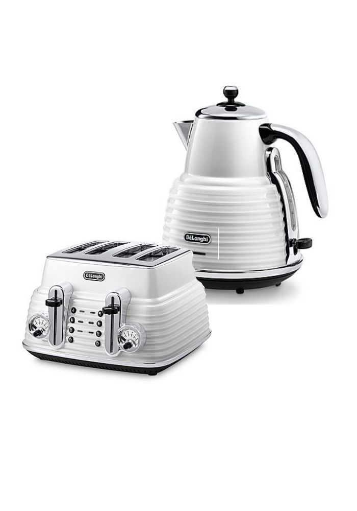 Delonghi white kitchen accessories
