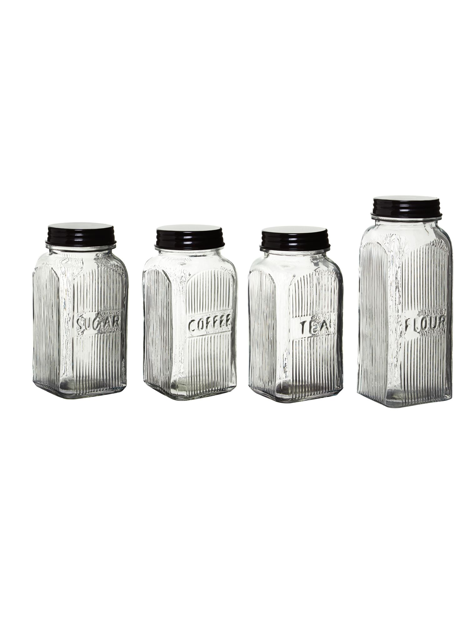 Restoration glass jars