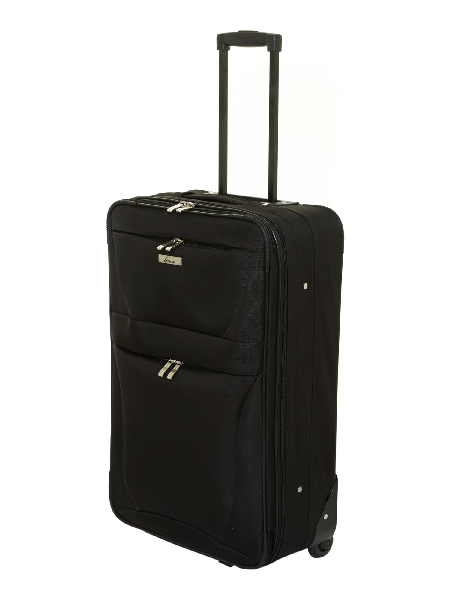 Phoenix black luggage range