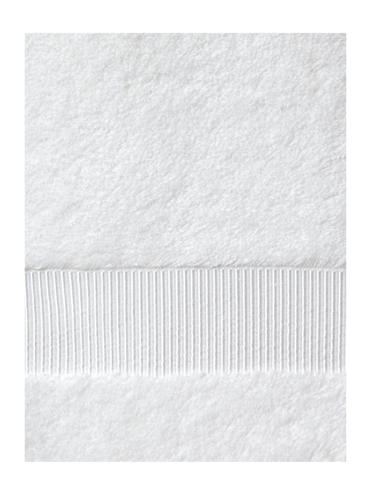 Cotton Modal 650gsm towels in white