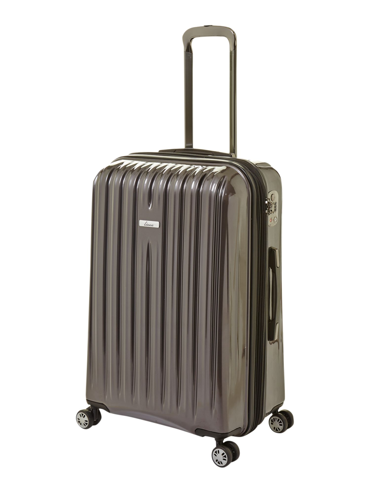 Titanium dark grey luggage range