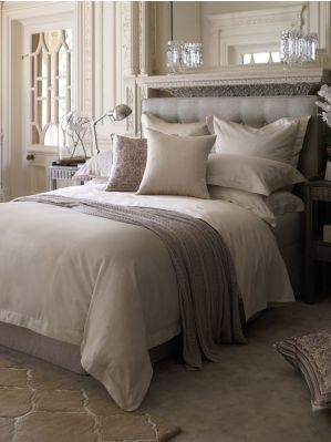 Ligon pebble bed linen