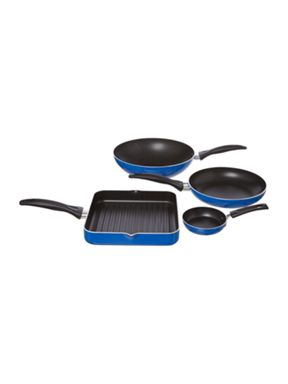 Open Frypan range in blue
