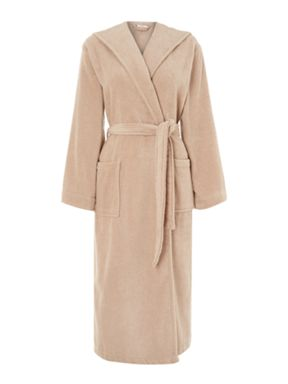 Luxury Hotel Collection Zero Twist robe in mushroom