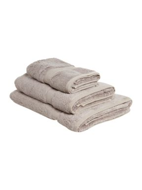 Luxury Hotel Collection Cotton Modal towels in amethyst
