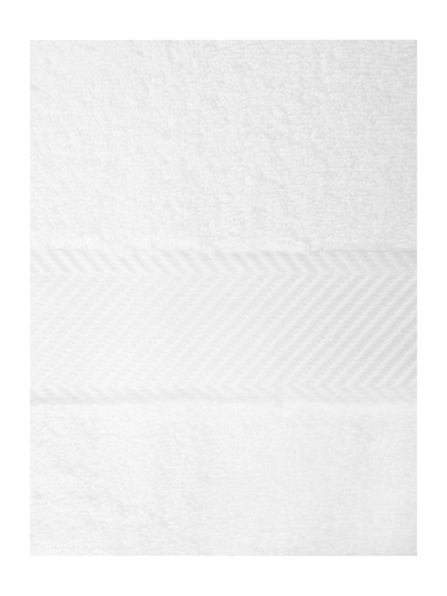 Zero twist white towels 500GSM