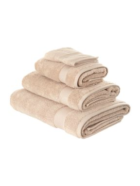 Luxury Hotel Collection Zero twist mushroom towels
