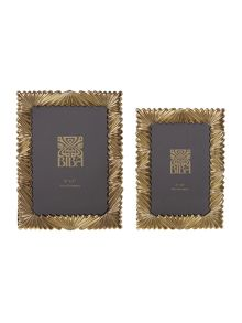 Biba Biba gold fan effect photo frames