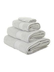 Ultra Luxe towels in duck egg