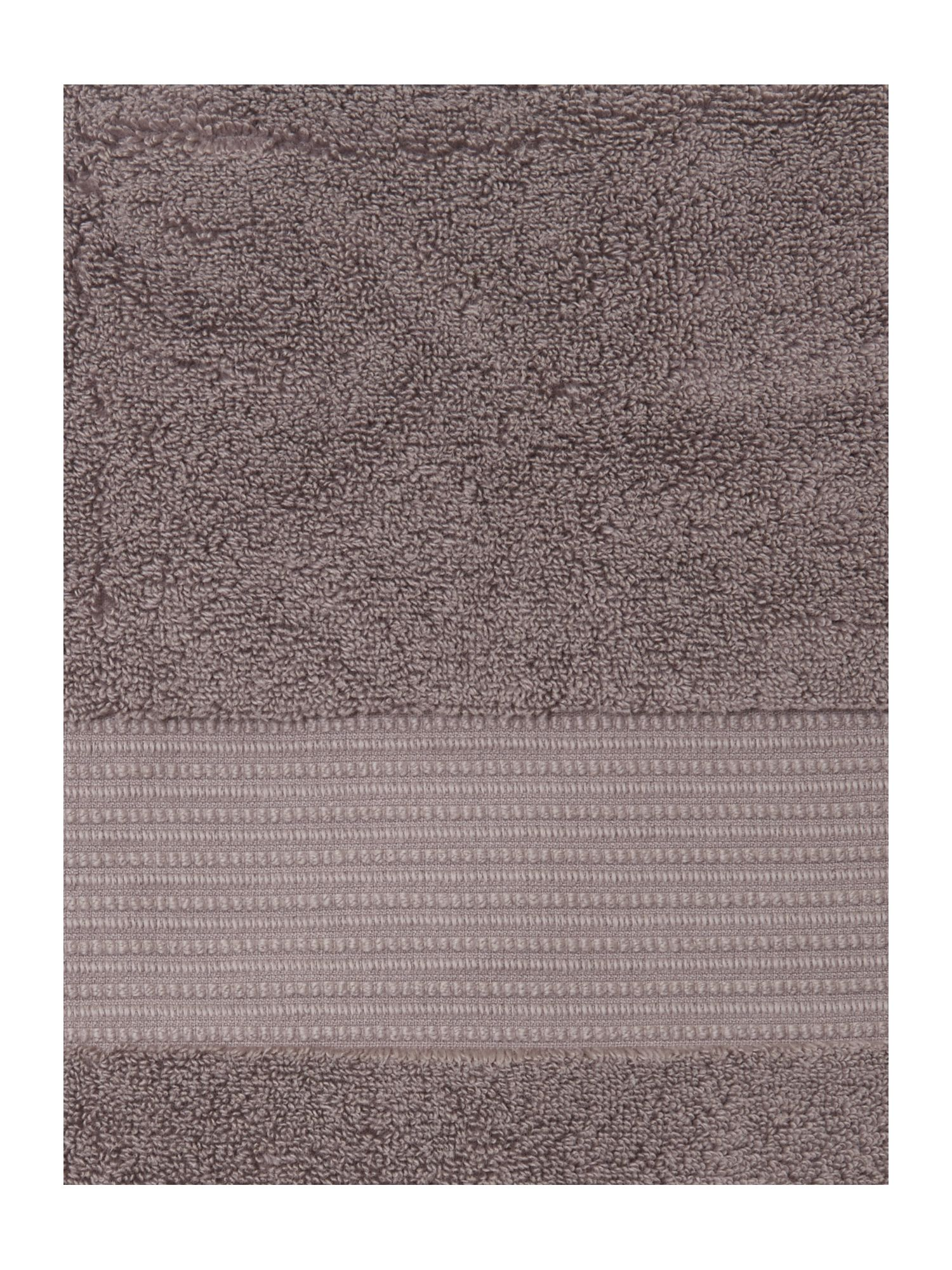 Ultra Luxe towels in slate
