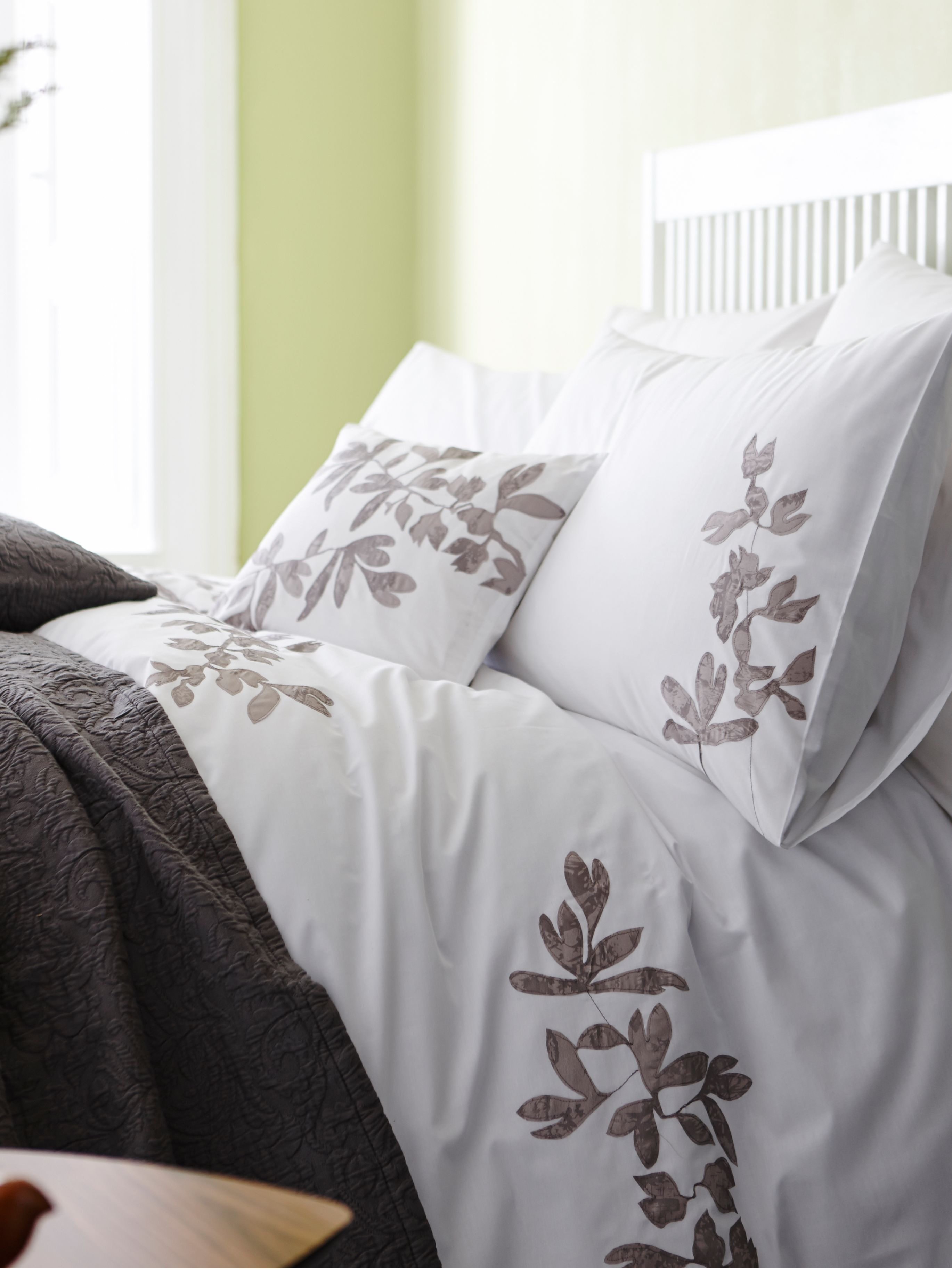 Ivy super king duvet cover set