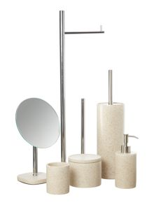 Linea Natural Spa bathroom accessories
