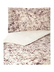 Leopard rose print bed linen